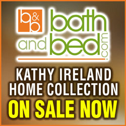 Kathy Ireland Bedding on sale at BathAndBed.com