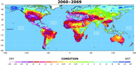 drought map 3 2060-2069
